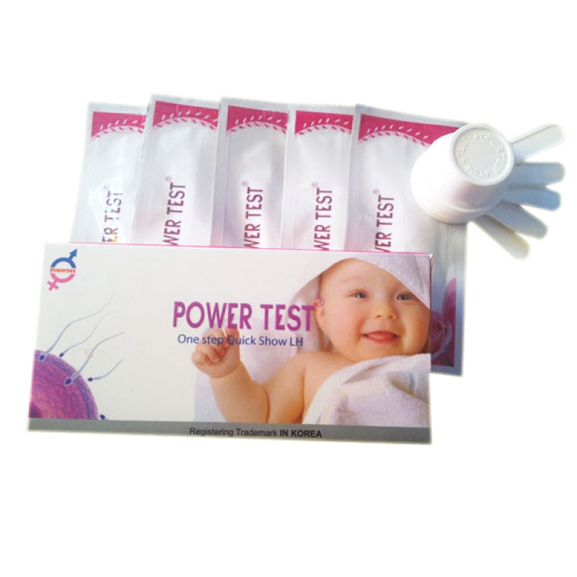 Que Thử rụng trứng Power Test ( Hộp 5 Que)